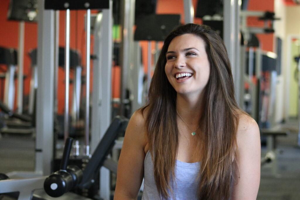 Samantha Smiling